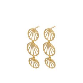 Pernille Corydon - Pernille Corydon Øreringe (Guld og sølv)