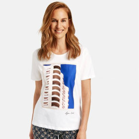 Gerry Weber - T-shirt Gerry Weber 100% Bomuld