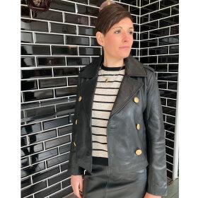FINE Copenhagen - FINE Copenhagen Skind jakke