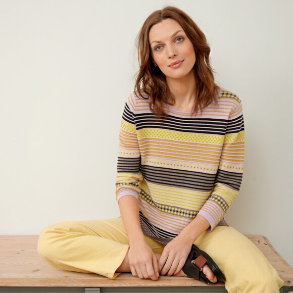 Mansted - Mansted Pullover 100% ECO Bomuld (Fl. farver)