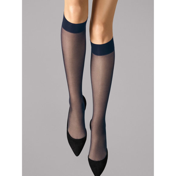 Wolford - Wolford knæstrømper Satin Touch 20